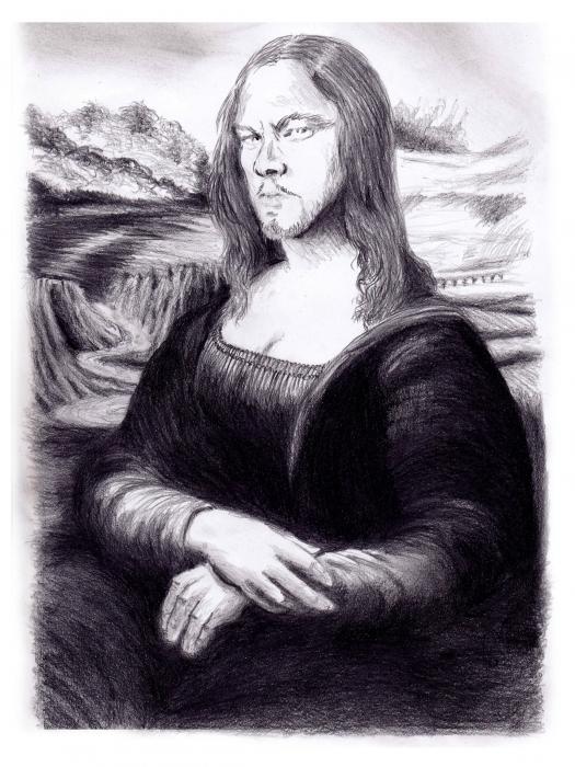 Leonardo DiCaprio, Leonardo da Vinci par jpoulos2561
